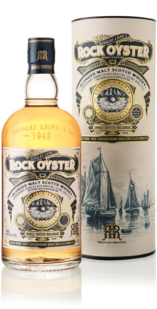 ROCK OYSTER BLENDED SCOTCH WHISKY BY DOUGLAS LAING