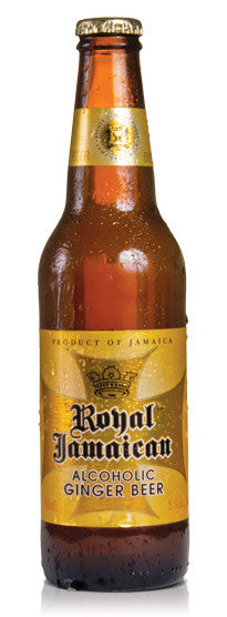 ROYAL JAMAICAN ALCOHOLIC GINGER BEER 355ML X 6