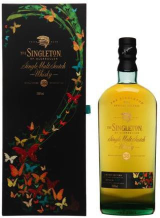 THE SINGLETON OF GLENDULLAN 38 YEAR OLD 1975 - 59.8%