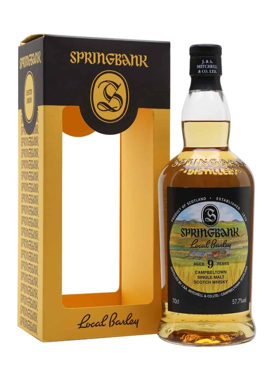 SPRINGBANK LOCAL BARLEY 9 YEAR OLD 57.7%