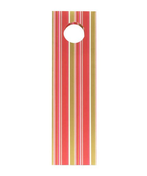 SINGLE COLOURFUL STRIPE BOTTLE BAG