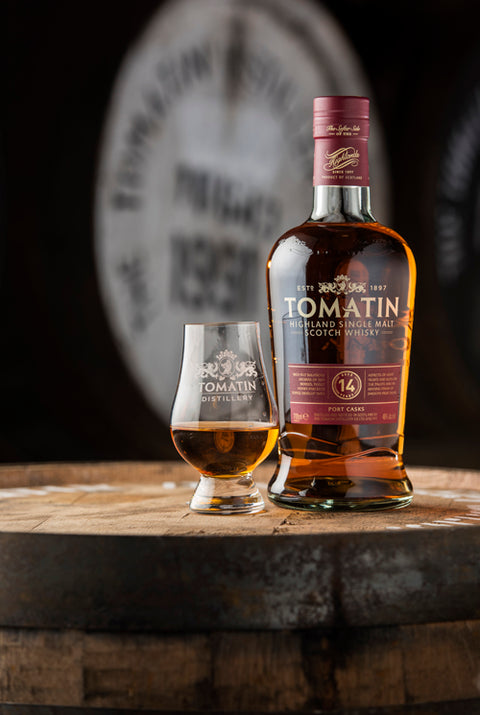 TOMATIN 14 YR OLD PORT WOOD HIGHLAND SINGLE MALT 46%