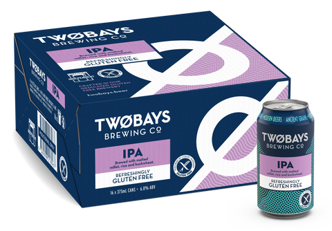 TWO BAYS GLUTEN FREE IPA 375ML X 16