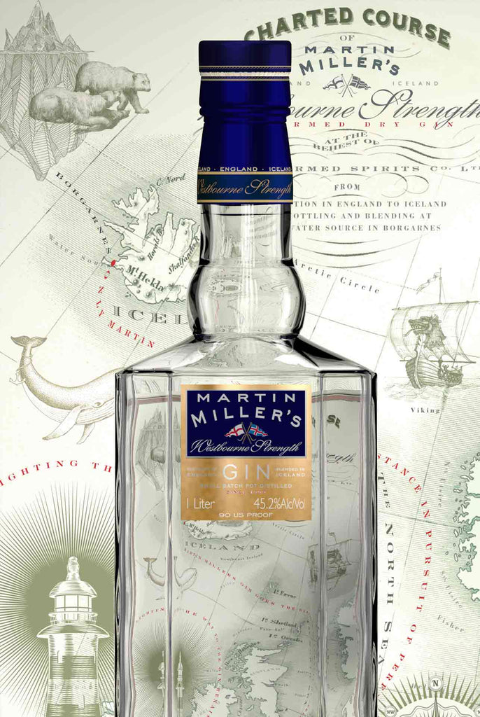 MARTIN MILLERS WESTBOURNE STRENGTH DRY GIN 700ML