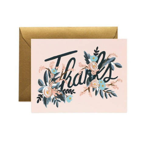 THANKS FLORAL - GIFT CARD FROM TELEGRAM CO.