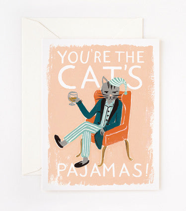 YOU'RE THE CAT'S PAJAMAS! - GIFT CARD