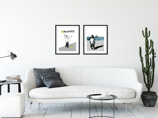 Numbered and signed art print by MITO