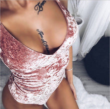 "Load image into Gallery viewer, ""Red Velvet Cake"" BodySuit"