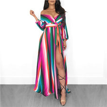 "Load image into Gallery viewer, ""Wavy Colours"" Dress"