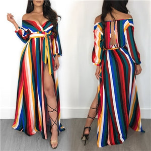 """Wavy Colours"" Dress"