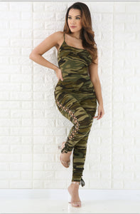 """Camo Chic"" Jumpsuit"