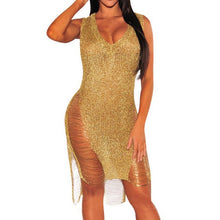 "Load image into Gallery viewer, ""Golden Aura"" Dress"