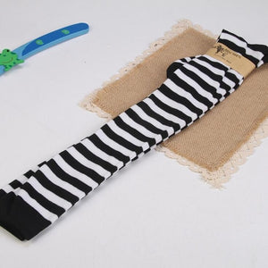 """Striped"" Thigh High Socks"