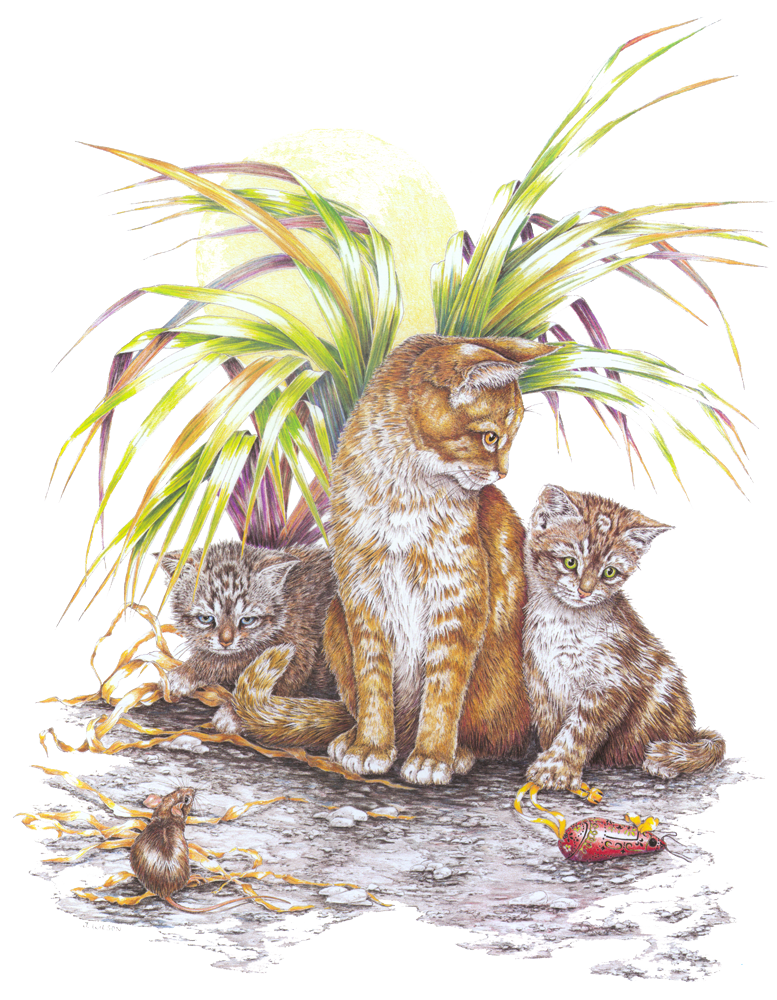 Cats and Mice-Limited Edition Print