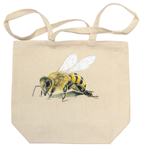 Honey Bee Canvas Tote Bag
