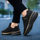 2019 Spring Mesh Men Casual Shoes Lac-up Men Shoes Lightweight Comfortable Breathable Walking Sneakers Tenis Feminino Zapatos