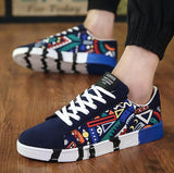 Koovan Men's Shoes 2018 New Spring New Men's Casual Shoes Canvas Sneakers  Korean Sports Tide Male Student Shoes