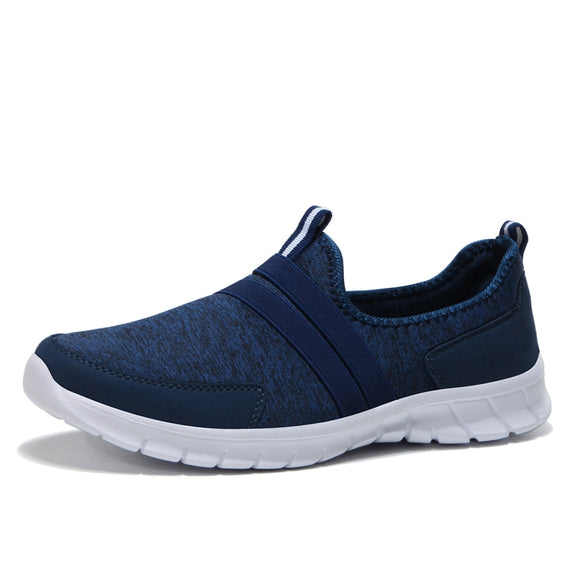Men Casual Flats 2018 Summer Breathable Light Weight Fashion Men Loafers Comfortable Slip-On Shoes Men's Sneakers Unisex 36-47