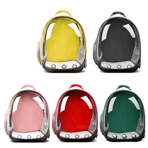 Pet Carrier Backpack - Transparent Bag