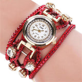 Luxury Brand Women's Watch Leather Bracelet