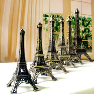 Vintage Bronze Paris Eiffel Tower Decoration
