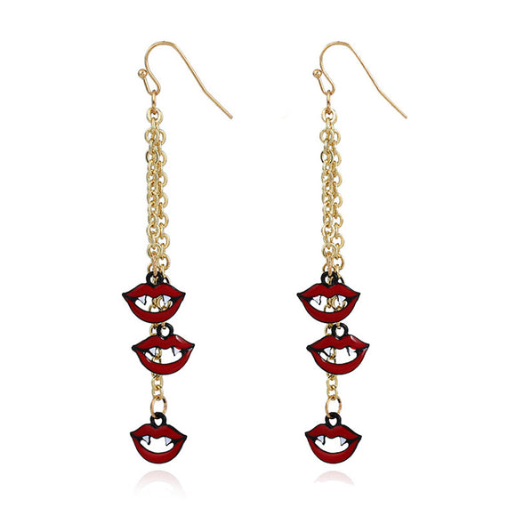 1 pair Halloween Long Earrings For Women