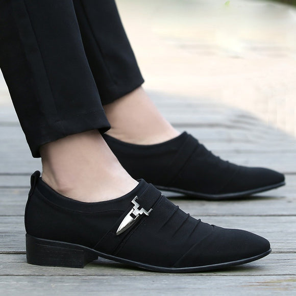 Men Casual Shoes Pointed Toe Formal