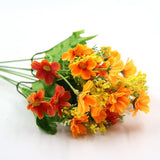 1 Bouquet 7 Branch Artificial Flowers