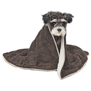 Pet Dog Blanket Skin-friendly Warm Multi-function
