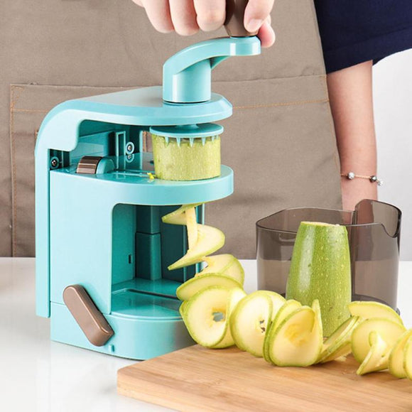 Multi-functional Manual Vegetables Spiral Cutter