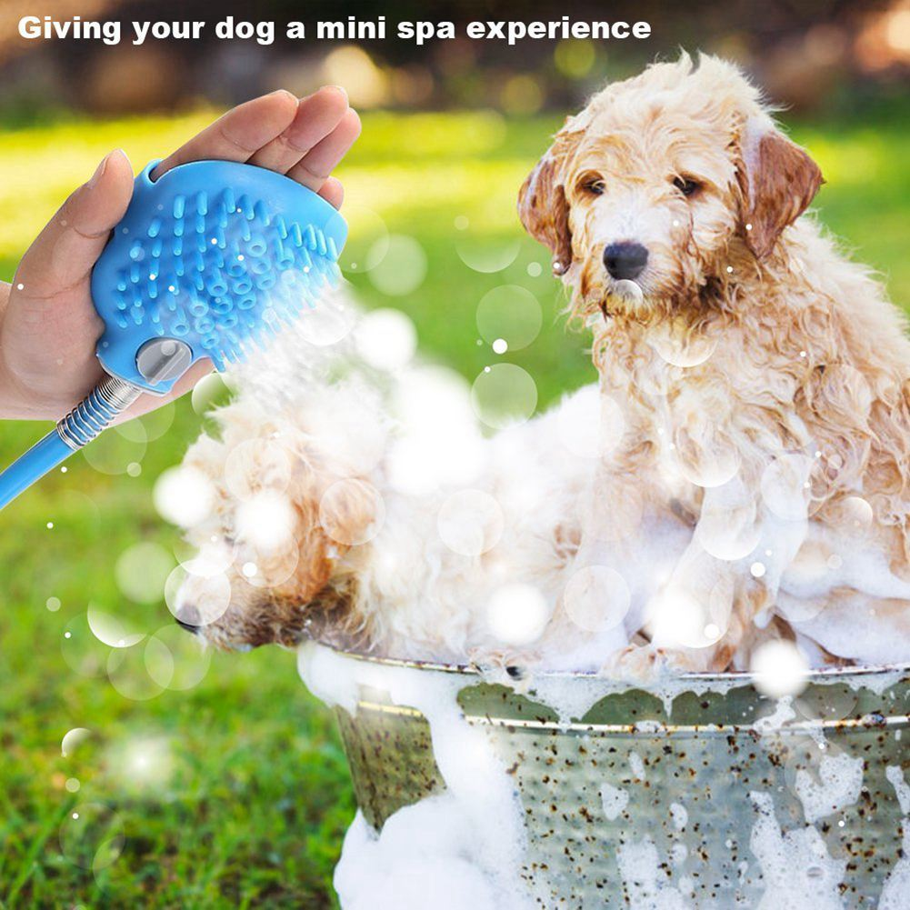 2-in-1 Bathing and Massager Spray -  DoggiDreams