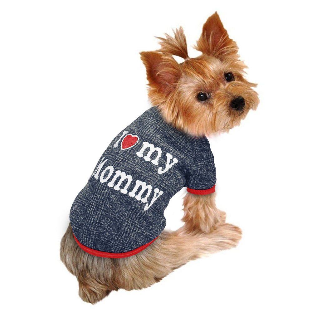 """I❤️ my Mommy/Daddy"" Sweatshirt -  DoggiDreams"