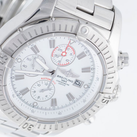 Breitling Steel Super Avenger, Stainless Steel