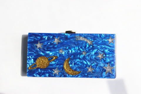 Star and Moon Clutch