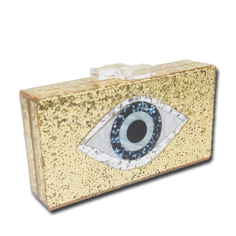 The Evil Eye Clutch