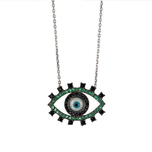 Kaya Green Eye Necklace