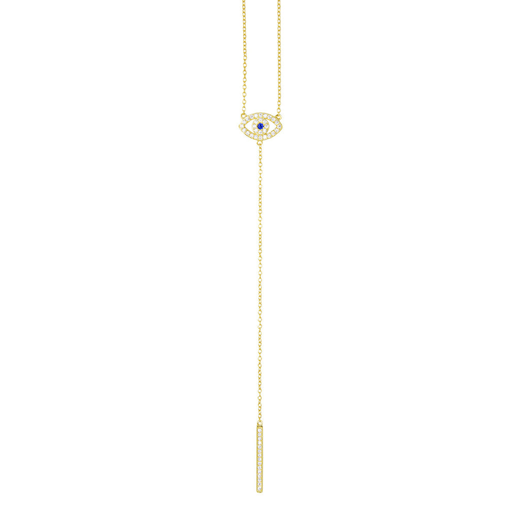 Lourdes Lariat Necklace