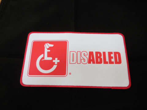 DachsieAid Patch Disabled Dog
