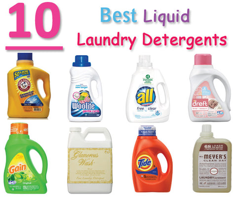 Top 10 Laundry Best Laundry Detergents! – Dryer Tune-Up