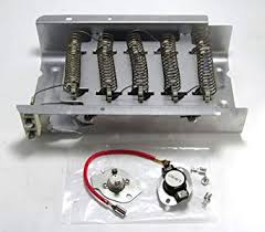 Dryer Heating Element TuneUp Kit with Fuses part# 279838