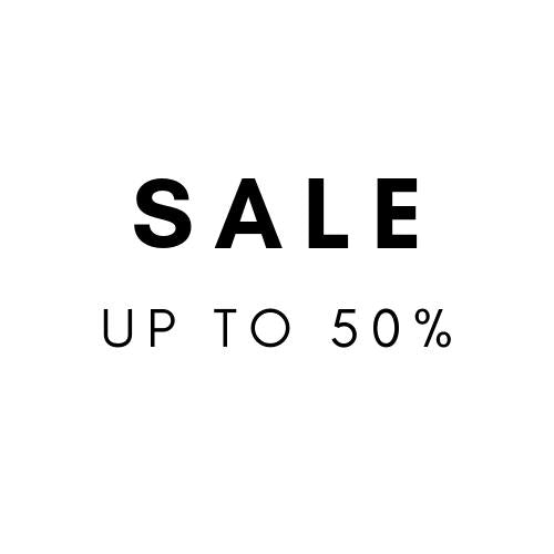 SALE - UP TO 50%