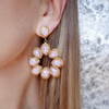 Ibiza Earrings Pink - Statement jewellery by Radiant Riviera