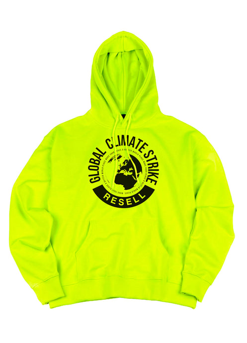 Climate Strike Hoodie Yellow