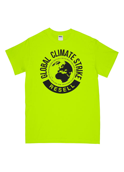 Climate Strike T-Shirt Yellow