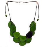 Double Tagua Necklace