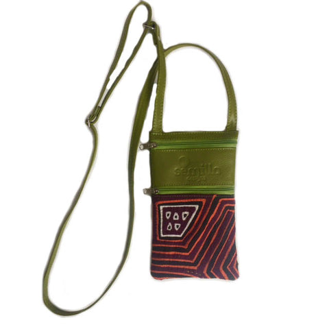 Small Mola Purse Green