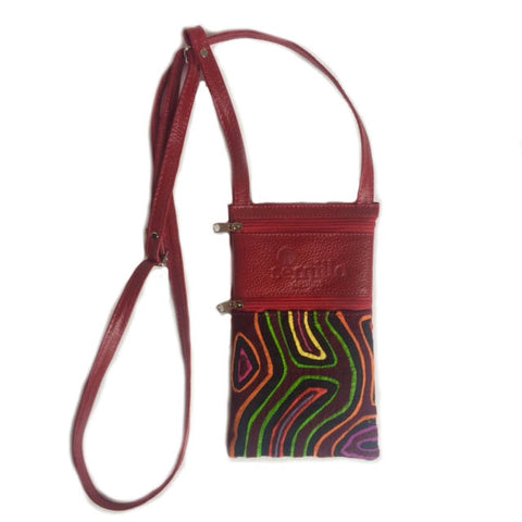 Small Mola Purse Red
