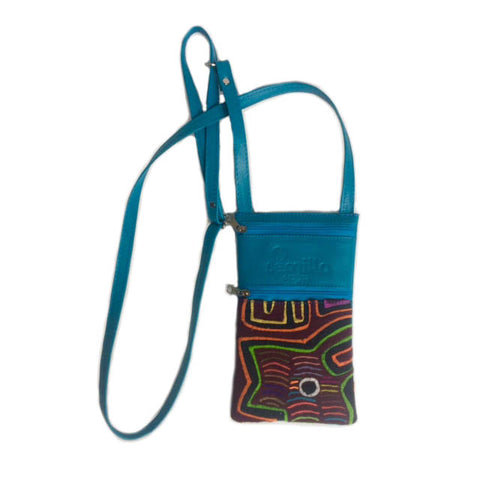 Small Mola Purse Turquoise