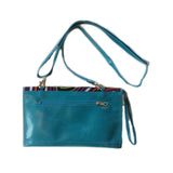 Mola Clutch Turquoise