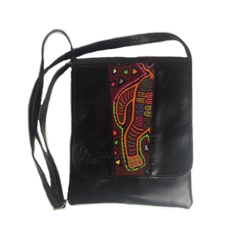 Medium Mola Purse Black